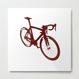 Bicycle - bike - cycling Metal Print