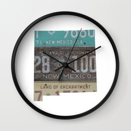 Vintage New Mexico Wall Clock