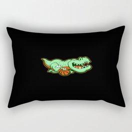 Dinosaur Motif Lovers Gift Idea Design Rectangular Pillow