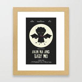 Akin Na Ang Baby Mo (Philippine Mythological Creatures Series #1) Framed Art Print
