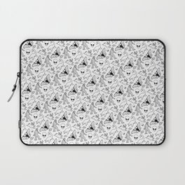 Cryptid Pattern: Ink Lines Laptop Sleeve
