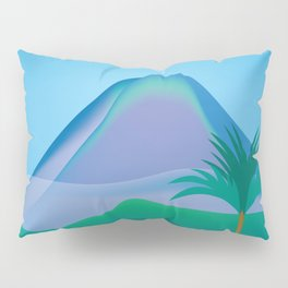 Costa Rica - Skyline Illustration by Loose Petals Pillow Sham