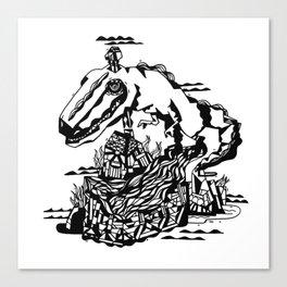 TYREX Canvas Print