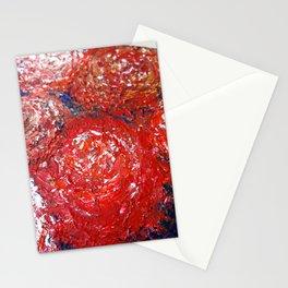 Las peonias de Las Nieves, Red Peonies Stationery Cards