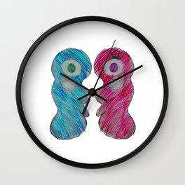 Love is   Be mine Valentine   Kids Painting Wall Clock