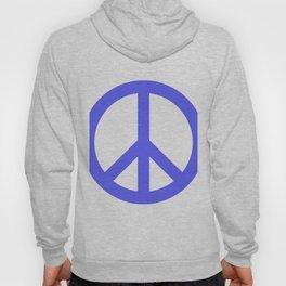 Peace (Azure & White) Hoody