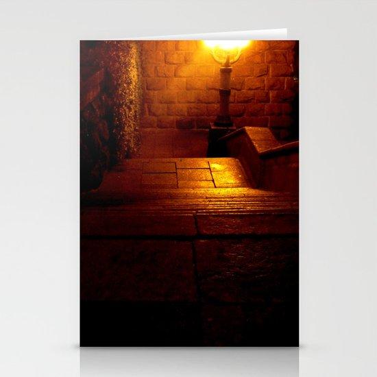 Night Crest 5 Stationery Cards