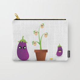 Egg Plant Carry-All Pouch