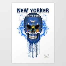 To The Core Collection: New York Art Print