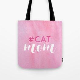 #CAT mom Tote Bag