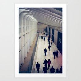 World Trade Center, Freedom Tower Transit Center Art Print