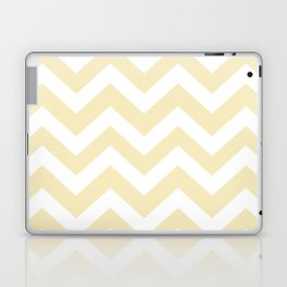 Lemon meringue - pink color - Zigzag Chevron Pattern Laptop & iPad Skin
