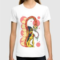 anaconda T-shirts featuring Anaconda  by BlackForestArt