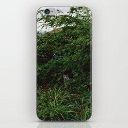 Hawaiian Cat iPhone Skin