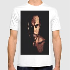 The Look Mens Fitted Tee MEDIUM White