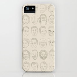 36 Funny People iPhone Case