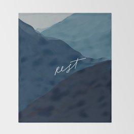 Rest Throw Blanket
