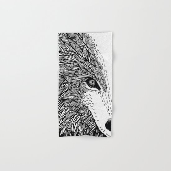wolf like me Hand & Bath Towel