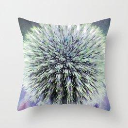Purple Pop! Throw Pillow