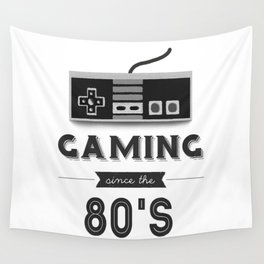 Gaming Since the 80's Wall Tapestry