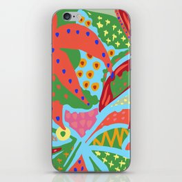 Exotic Flowers In The Glasshouse iPhone Skin