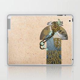 Steampunk Spain Laptop & iPad Skin
