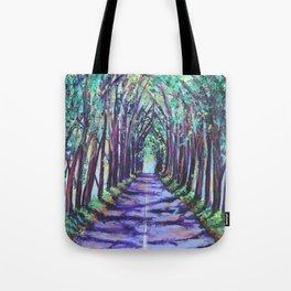 Kauai Tree Tunnel Tote Bag