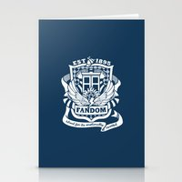 fandom Stationery Cards featuring Fandom School for the Emotionally Invested by isabloo