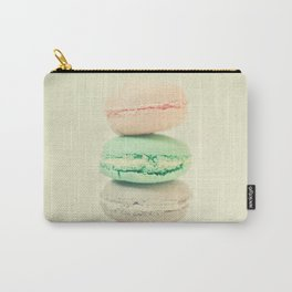 Four Macarons Carry-All Pouch