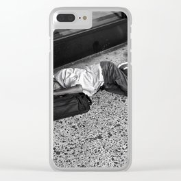 Give Me Your Poor & Tired (Pt 24 - NYC) Clear iPhone Case