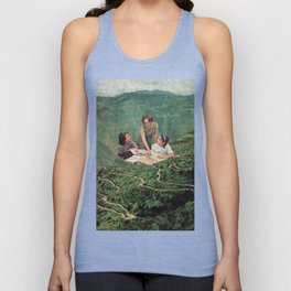 Geography Unisex Tank Top