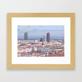Without wheel Framed Art Print