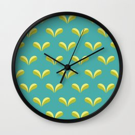 Betty's Garden Wall Clock