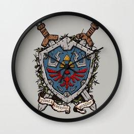 The shield Wall Clock