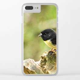 New Zealand Tomtit Clear iPhone Case