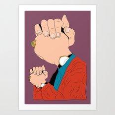Knuckle Head II - Graham Art Print