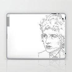 Bob Dylan WordsPortrait  Laptop & iPad Skin