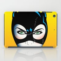 catwoman iPad Cases featuring Catwoman by mark ashkenazi