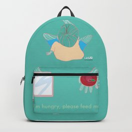 Hungry Backpack