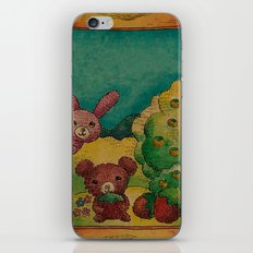 Forest wool iPhone & iPod Skin
