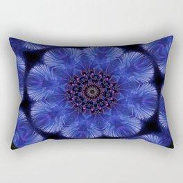 Bluejay's Flight Rectangular Pillow