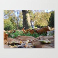 Hyde Park  Canvas Print