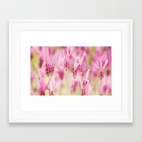 lavender Framed Art Prints featuring Lavender by Anne Staub