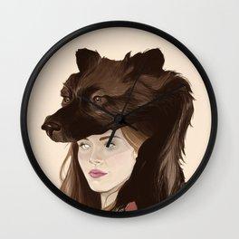 The Banshee's Crown Wall Clock