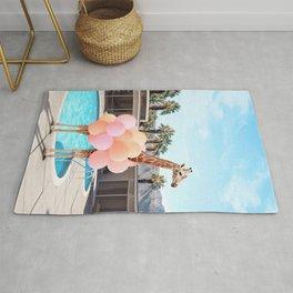 Giraffe Palm Springs Rug
