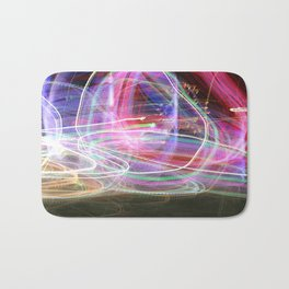 Carnival Lights Bath Mat