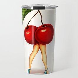 Cherry Girl Travel Mug