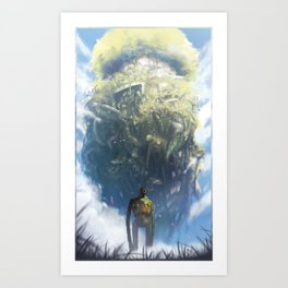 Laputa (No Text) Art Print