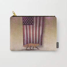 the Fox & the Flag Carry-All Pouch