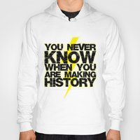history Hoodies featuring HISTORY by Silvio Ledbetter
